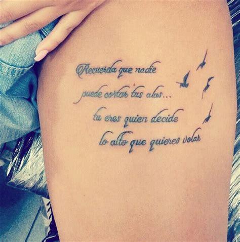 imagenes tatuajes frases en español tatuajes de frases en espa 241 ol 187 ideas y fotograf 237 as