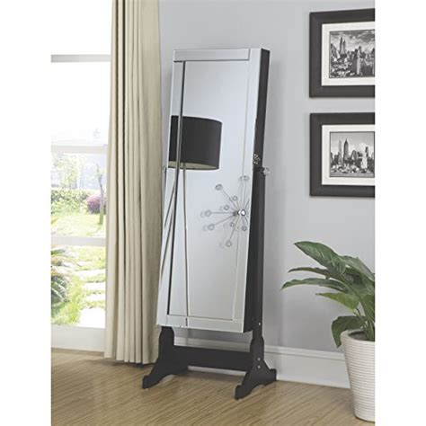 Casual Bedroom Armoire Coaster Home Furnishings 970047 Casual Jewelry Armoire