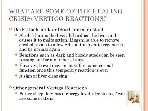 What Is A Healing Crisis Detox Reaction by Ganoderma Lucidium Reishi Lingzhi Fungi