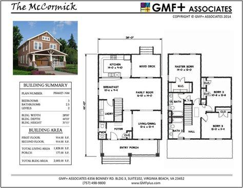 2 Story Narrow Lot House Plans by 39 Best Gmf Associates Va Stock House Plans