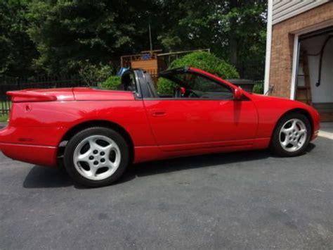 auto air conditioning repair 1995 nissan 300zx instrument cluster sell used 1995 nissan 300zx base convertible 2 door 3 0l converted to twin turbo in pfafftown