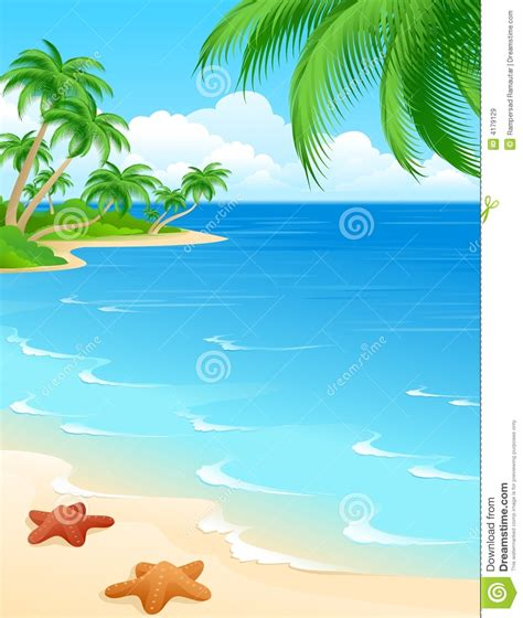 printable images beach 5 best images of printable beach scene clip art free
