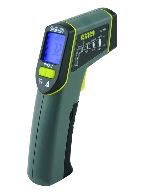 Thermometer Infrared 8 1 non contact infrared thermometer general tools