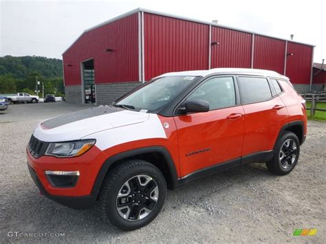 orange jeep compass 2018 spitfire orange jeep compass trailhawk 4x4 122153678
