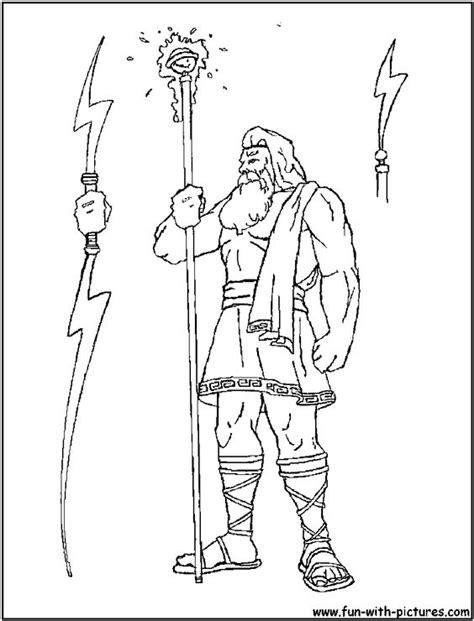 greek mythology coloring pages pdf zeus greek god coloring pages 12 θεοι γενικα εικονεσ
