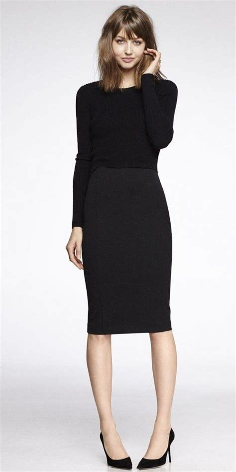 why choose black pencil skirt for professional purposes