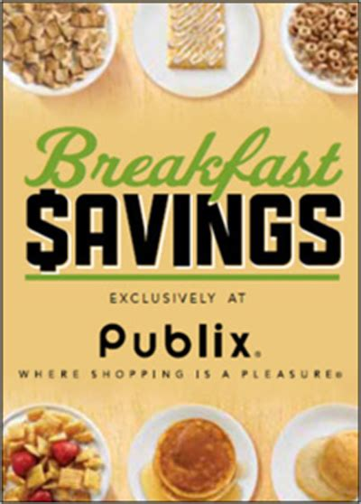 Publix Gift Card Giveaway - breakfast savings event at publix 25 publix gift card giveaway