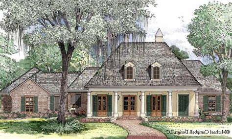 653667 french acadian four bedroom with many extras house plans floor plans home plans french acadian house plans with photos