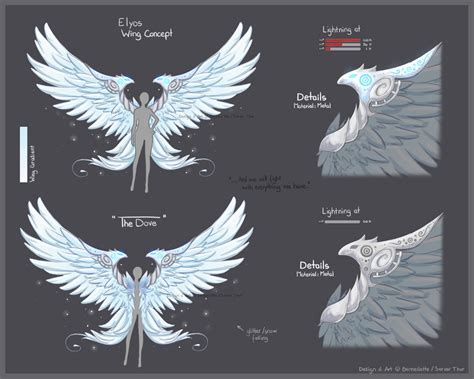 aion wing contest by cottoneeh on deviantart