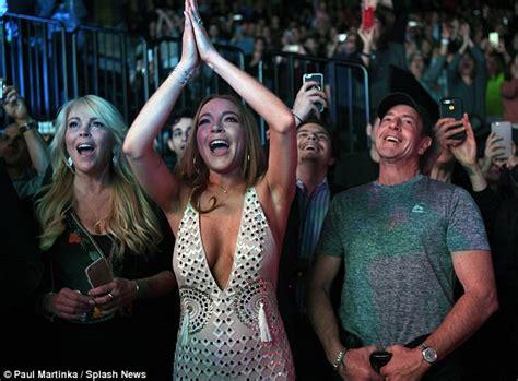 Momma Lohan Gets Fingered by Lindsay Lohan Is Engaged To Russian Heir Egor Tarabasov