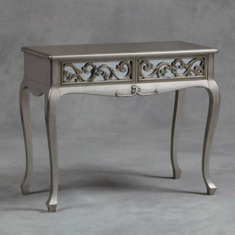 silver rococo mirror dressing table/ console forever