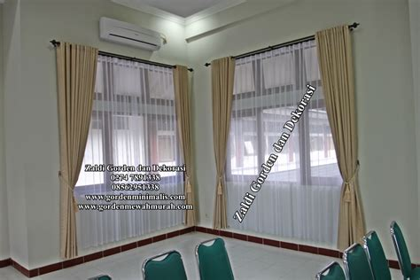 Gorden Rumah Minimalis Murah Gorden Minimalis Terbaru Murah Siap Pakai Model Gorden