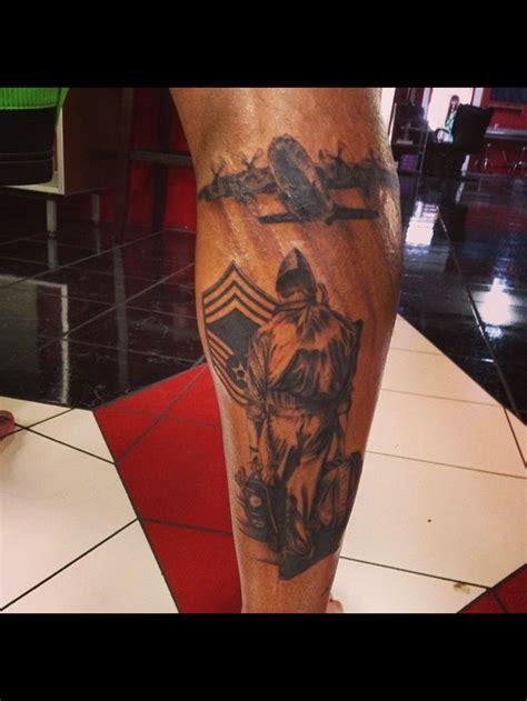 air force c130 aircrew calf tattoo tattoos pinterest