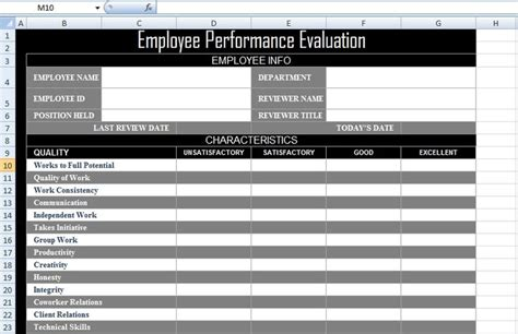 623 Best Images About Excel Project Management Templates For Business Tracking On Pinterest Employee Performance Evaluation Sle Template