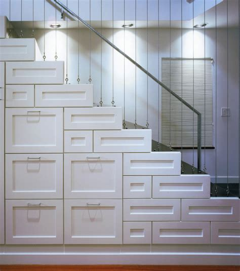 Storage Drawers In Stairs by Staircases With Built In Shelving Units