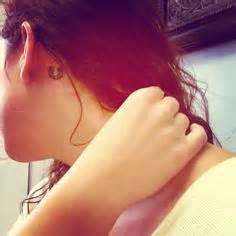 horseshoe tattoo behind ear tattoos i want on pinterest 140 pins