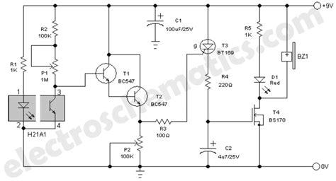 smoke detector wiring diagram pdf smoke detector alarm circuit