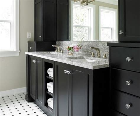black bathroom cabinet ideas bathrooms with black vanities home deco plans