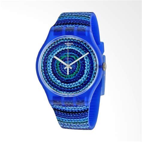 Jam Tangan Wanita Swatch Murah Blue jual swatch suos104 centrino bahan tali silikon jam tangan wanita blue harga