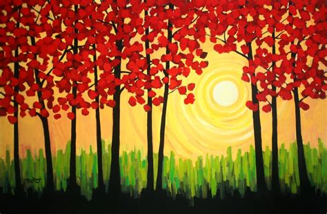 easy acrylic painting ideas for beginners simple canvas paintings on easy canvas