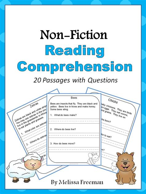 the best seat in second grade comprehension questions non fiction reading comprehension passages