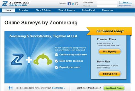 Free Survey Maker - free online survey maker zoomerang