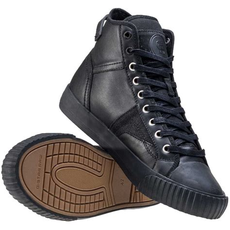 g boots mens g cus high mens ankle boots in black