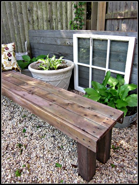 used garden bench diy garden bench woodworking projects plans