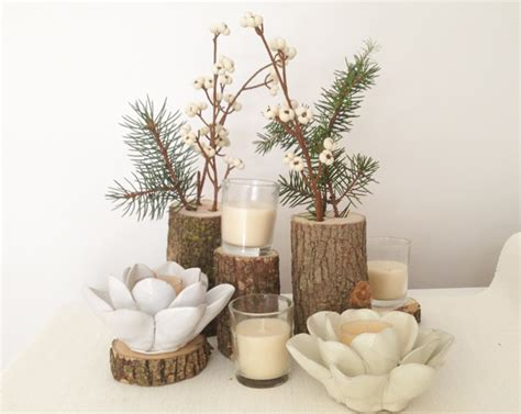 rustic log centerpieces diy rustic wedding centerpieces merrypad
