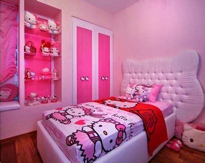 Ranjang Helo Kity gambar kamar tidur hello yang cantik dan lucu