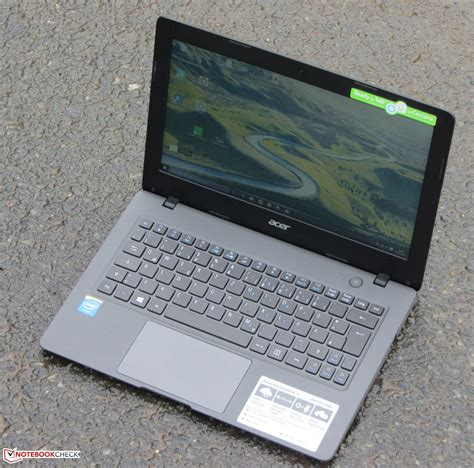 Berapa Laptop Acer One 14 acer aspire one cloudbook 11 netbook review notebookcheck net reviews