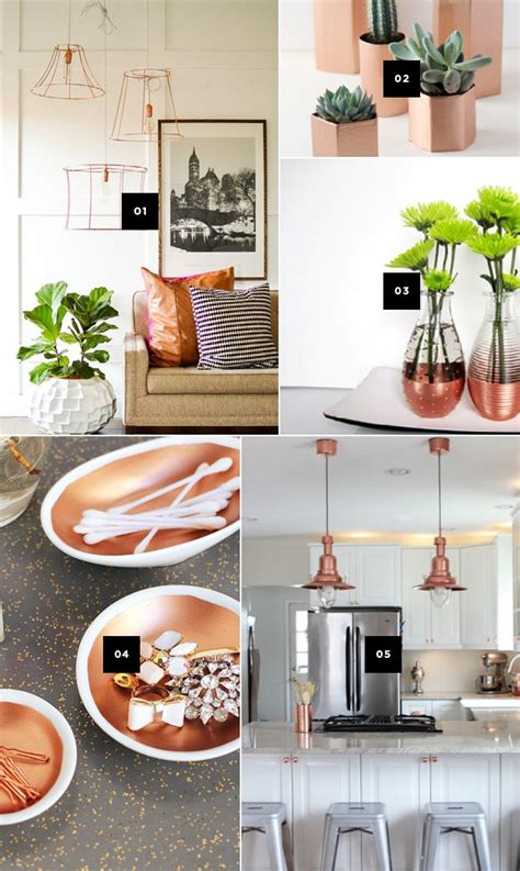 copper decor accents 5 diy ways to add copper accents to your home and a giveaway copper sweet home and to find out