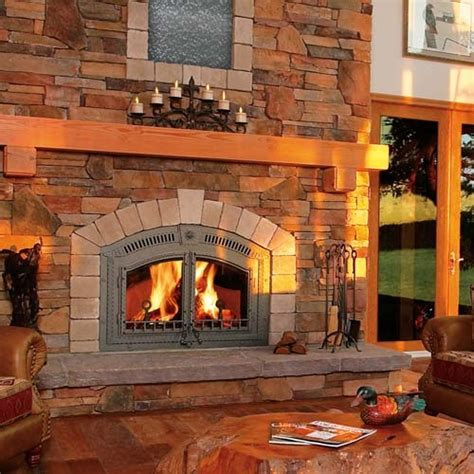 Napoleon Fireplace Installation by Zero Clearance Wood Burning Fireplace The Fireplace Stop