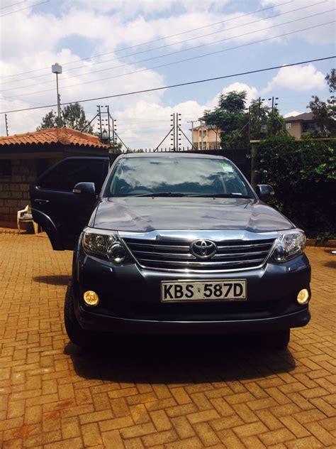 Car Types In Kenya by Toyota Fortuner Kenya Car Bazaar Ltd