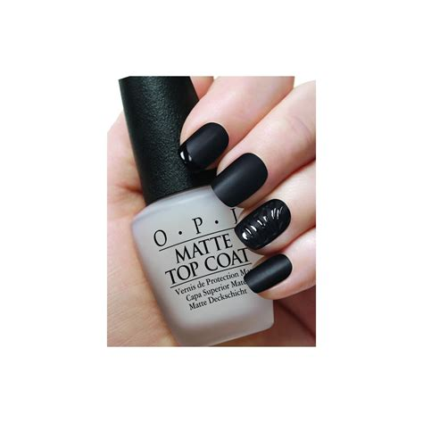 best matte top coat nail opi matte nail top coat