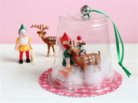 how to mske christmas ornaments with plastic cups plastic cup diorama ornaments 183 kix cereal