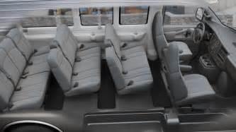 santa chevrolet express passenger