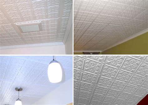 direct mount ceiling tiles fleur de lis direct mount ceiling tiles white