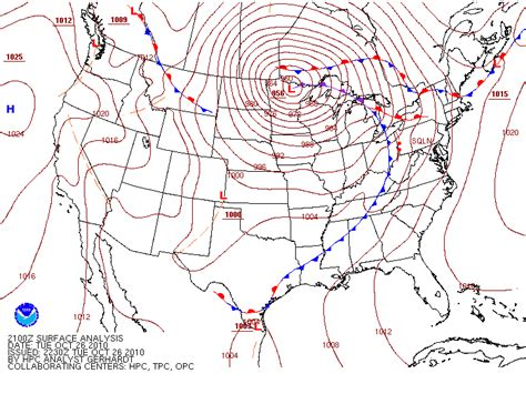 us weather map high and low pressure weather s highs and lows learning weather at penn state