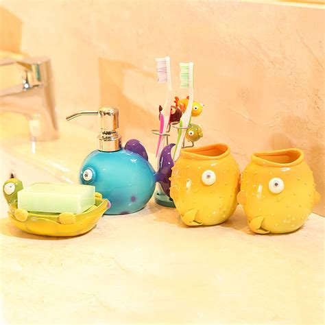 kids bathroom accessories sets kids bathroom accessories home decorating excellence
