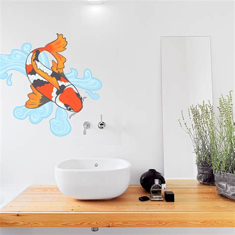 wall stickers fish fish wall decal w wall decal