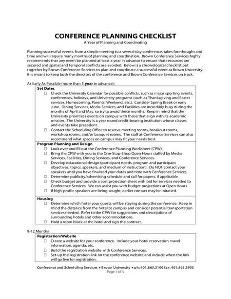 conference room setup checklist conference planning checklist rhode island free
