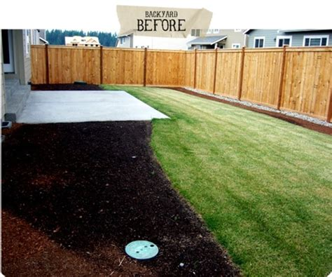 small rectangular backyard ideas before after a party worthy backyard makeover curbly