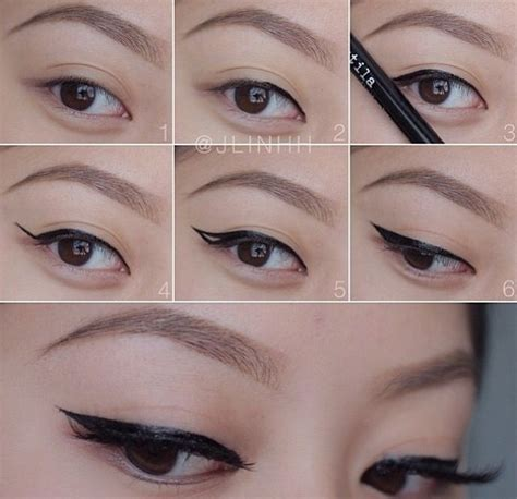 eyeliner tutorial with pencil best tips to apply winged eyeliner for beginners how to