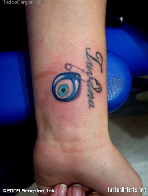 evil eye wrist tattoo 51 evil eye tattoos