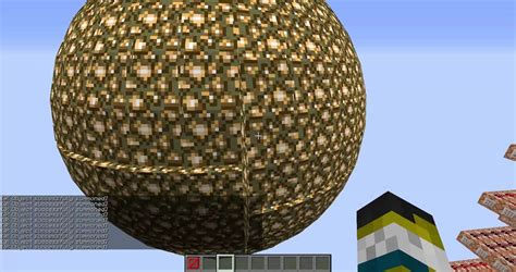 how to make spheres in vanilla minecraft youtube