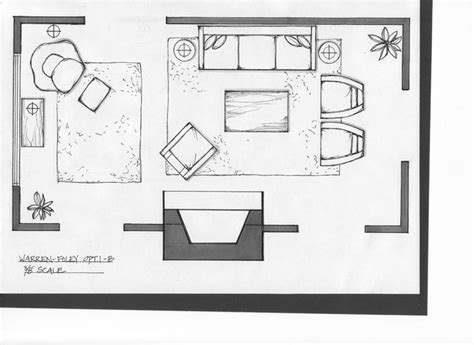 Online Furniture Planner living room layout tool simple sketch furniture living