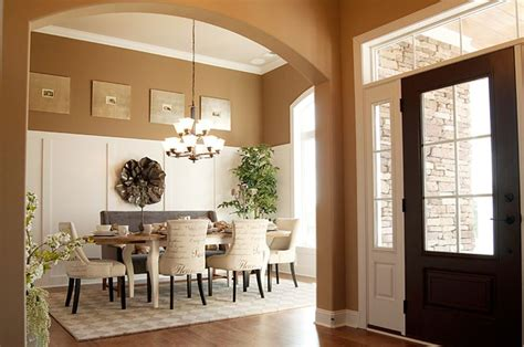 Formal Dining Room With Farmhouse Table Formal Yet Casual Dining Room With Farmhouse Table