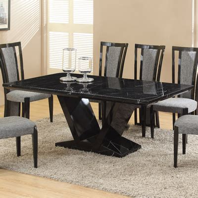 black marble dining room table remarkable black marble dining table and chairs 56 for