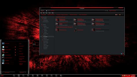 games themes download for windows 8 1 windows 8 theme razerred8 gold by thebull1 on deviantart